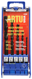 Sets Jobber Length Multi-Purpose Drill Bits
