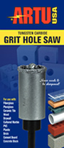 Tungsten Carbide Grit Hole Saws Brochure